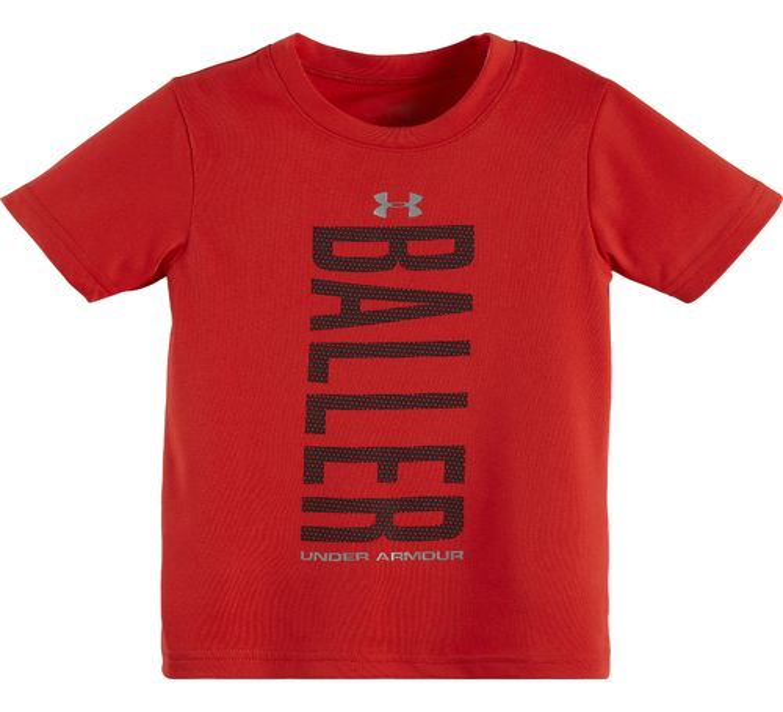 Under Armour Boys 39 Baller Short Sleeve T Shirt Academy