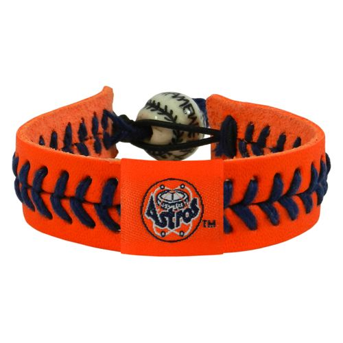 GameWear Adults' Houston Astros Retro 80s Logo Baseball Bracelet
