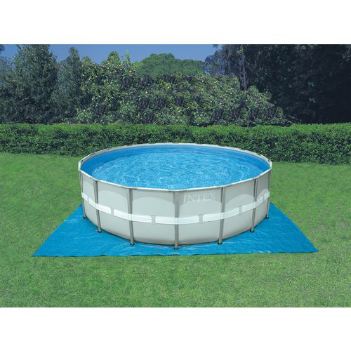 INTEX 24 ft x 52 in Round Ultra Frame Pool Set with 1,200 Gal Filter Pump