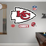 Fathead Kansas City Chiefs Logo and Team Decals 5-Pack