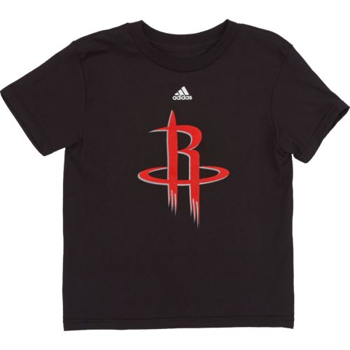 adidas™ Boys' Houston Rockets Primary Logo Short Sleeve T-shirt