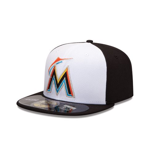 New Era Men's Miami Marlins 2015 Home Diamond Era Cap