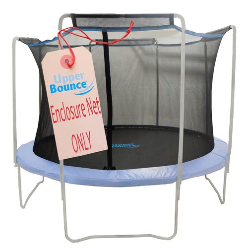 Upper Bounce® 12' Replacement Enclosure Safety Net with Sleeves on Top for 4-Arch Trampolin