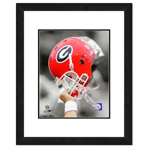 "Photo File University of Georgia 8"" x 10"" Helmet Photo"