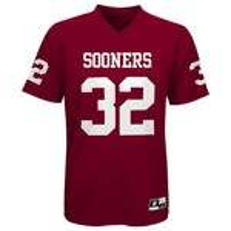 NCAA Boys' University of Oklahoma Football Player Performance T-shirt