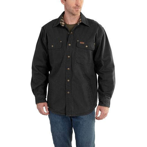 Carhartt Men's Weathered Canvas Shirt Jac - view number 1
