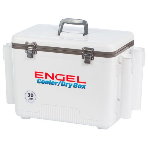 Engel 30 qt Cooler/Dry Box with Rod Holders - view number 5