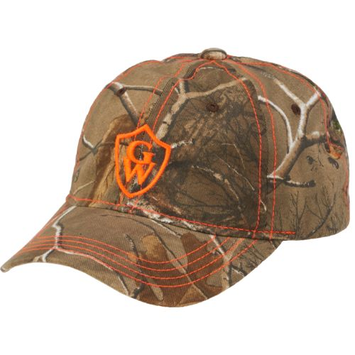 Game Winner® Men's Realtree Embroidered Shield Twill Cap