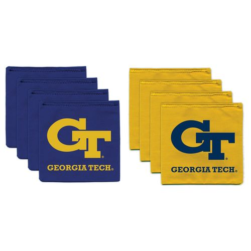 BAGGO® Georgia Tech 9.5 oz. Replacement Beanbag Toss Beanbags 8-Pack
