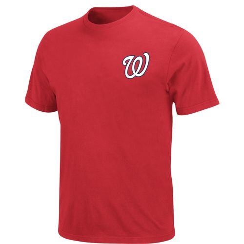 Display product reviews for Majestic Men's Washington Nationals Official Wordmark T-shirt