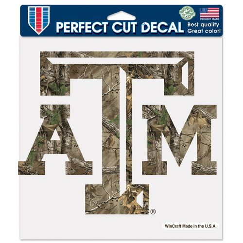 WinCraft Texas A&M University Perfect Cut Camo Decal