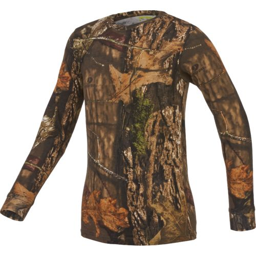 Game Winner® Boys' Hill Zone Camo Long Sleeve T-shirt