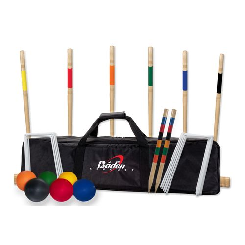 Display product reviews for Baden Deluxe Series Croquet Set