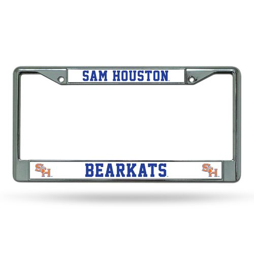 Rico Sam Houston State University Chrome License Plate Frame