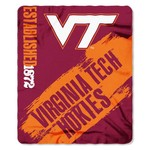 The Northwest Company Virginia Tech Painted Fleece Throw - view number 1