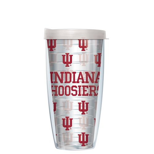 Signature Tumblers Indiana University 22 oz. Repeated Pattern Traveler Insulated Tumbler