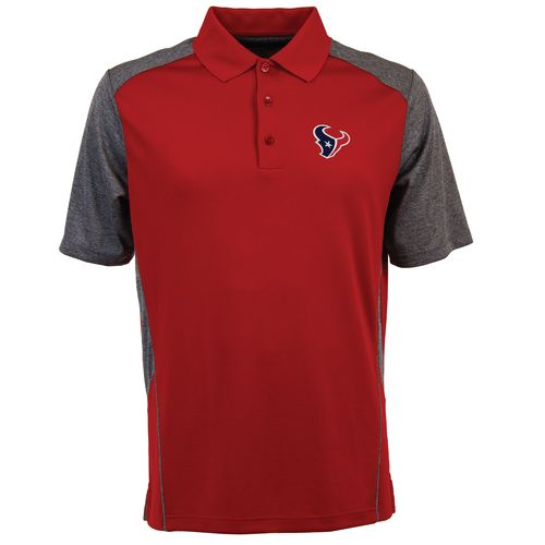 Antigua Men's Houston Texans Approach Polo Shirt