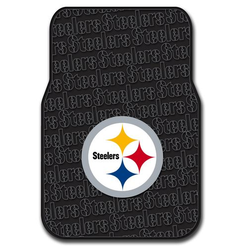 The Northwest Company Pittsburgh Steelers Front Car Floor Mats 2-Pack