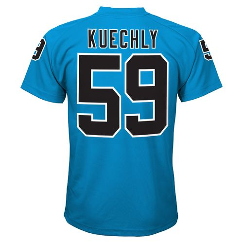 NFL Toddlers' Carolina Panthers Luke Kuechly #59 Stealth Performance Alternate T-shirt