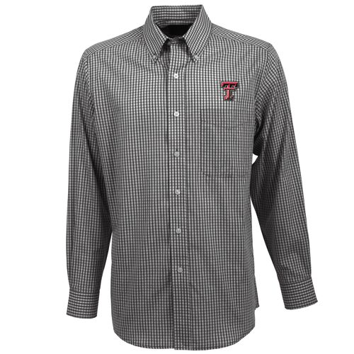 Antigua Men's Texas Tech University Associate Long Sleeve Shirt