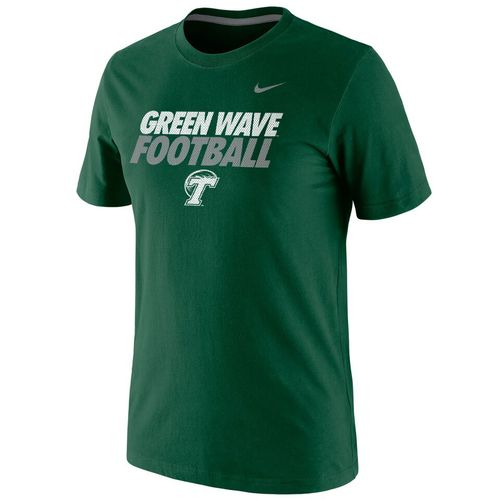 Nike™ Men's Tulane University Cotton Short Sleeve T-shirt