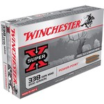 Winchester Super-X .338 Winchester Magnum 200-Grain Power-Point Centerfire Rifle Ammunition