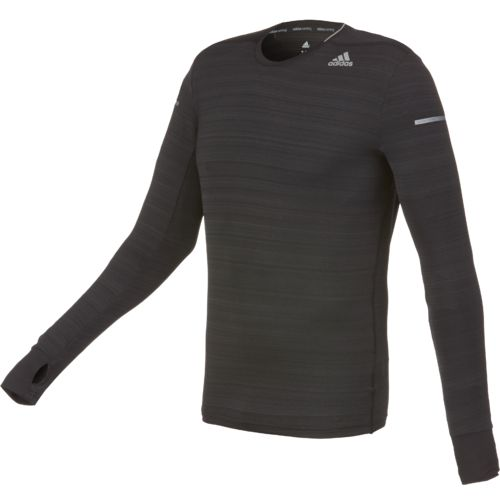 adidas Men's Sequencials Heathered Long Sleeve T-shirt