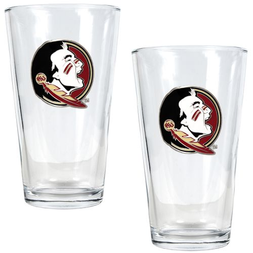 Great American Products Florida State University 16 oz. Pint Glasses 2-Pack