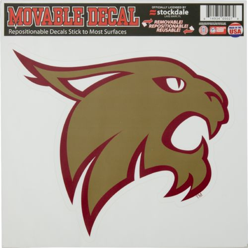 Stockdale Texas State University Single Logo Decal