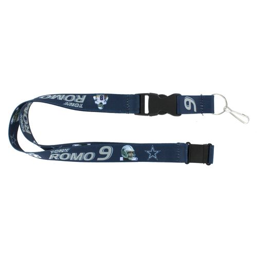 Aminco Dallas Cowboys Tony Romo #9 Player Action Lanyard