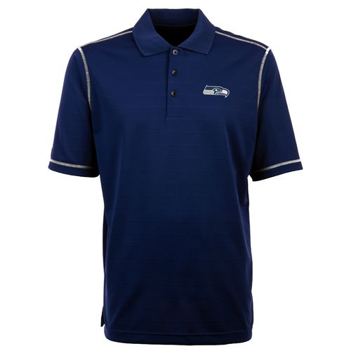 Antigua Men's Seattle Seahawks Icon Polo Shirt - view number 1