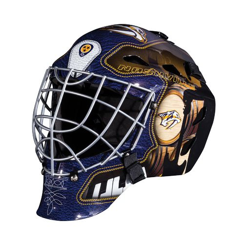 Franklin Boys' Nashville Predators GFM 1500 Goalie Face Mask