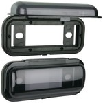 Metra Universal Marine Cover System - Black Finish