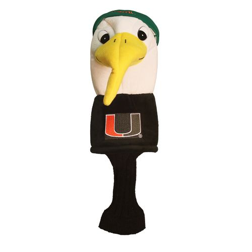 Team Golf University of Miami Mascot Head Cover - view number 1