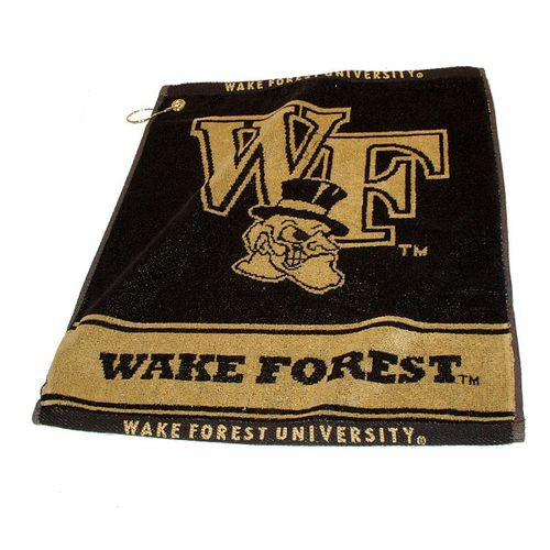 Team Golf Wake Forest University Woven Towel