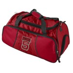 Logo North Carolina State University Athletic Duffel Bag