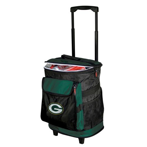 Logo™ Green Bay Packers Rolling Cooler - view number 1