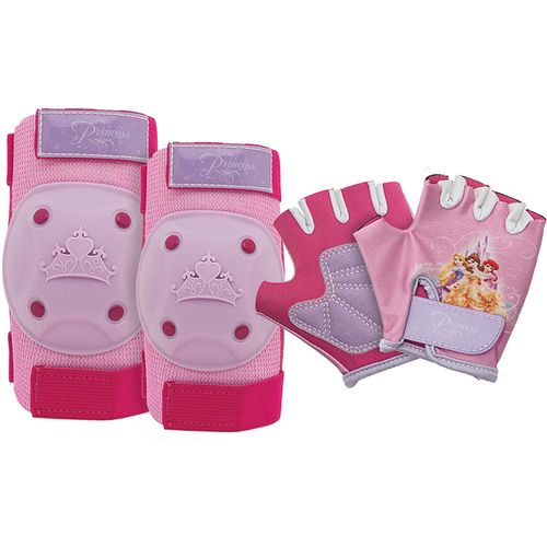 Bell Girls' Princess Pads and Gloves Set