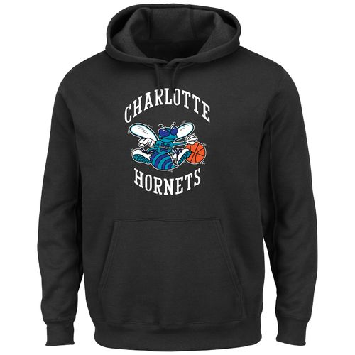 Majestic Men's Charlotte Hornets Hardwood Classics Tek Patch™ Hoodie - view number 1