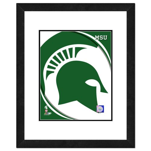 Photo File Michigan State University Logo Stretched Canvas