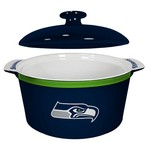 Boelter Brands Seattle Seahawks Gametime 2.4 qt. Oven Bowl