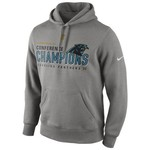 Nike Men's Carolina Panthers National Football Conference Championship Trophy Hoodie