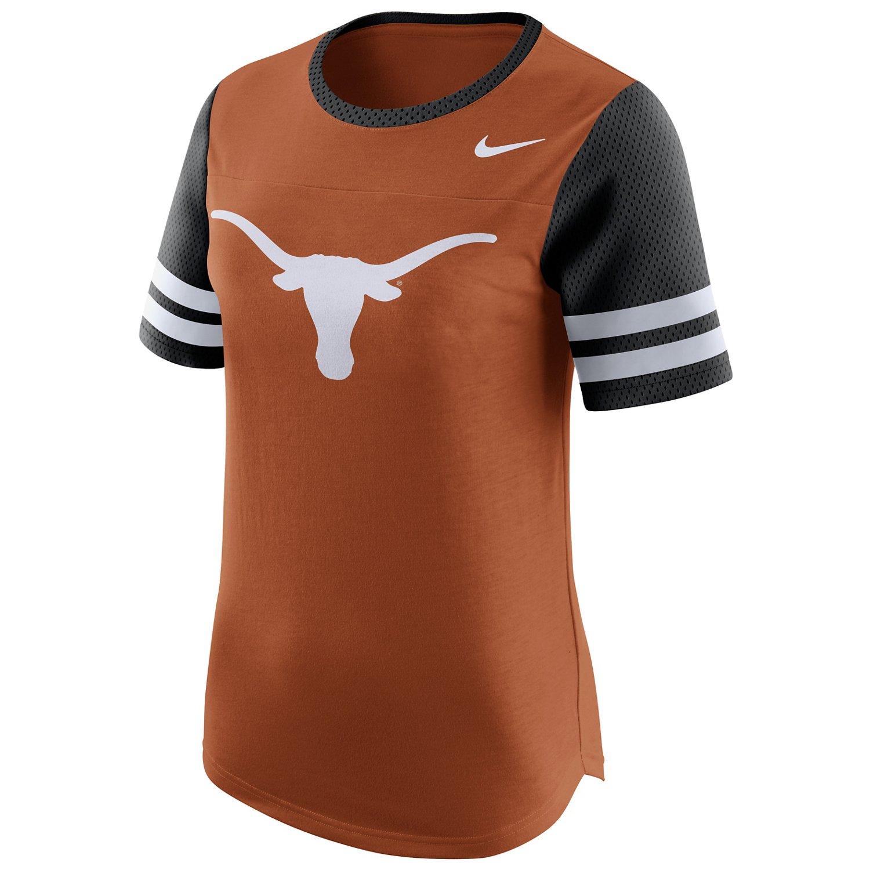 Nike Women's University of Texas Modern Fan Top