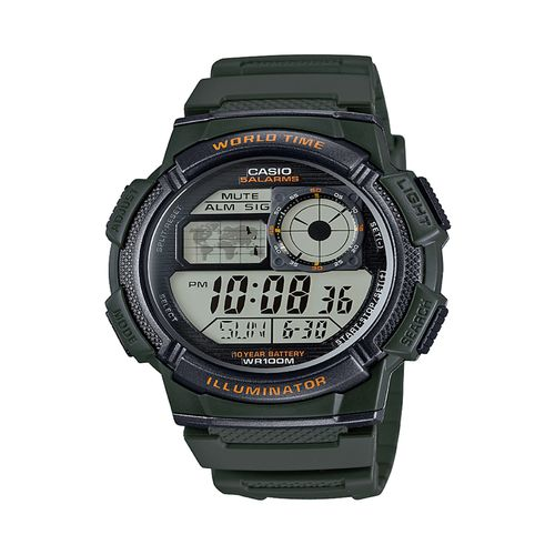 Casio Men's World Time Watch