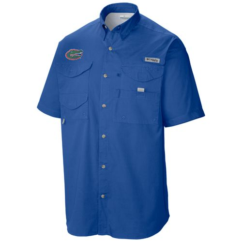 Columbia Sportswear Men's NCAA Tamiami™ Short Sleeve Fishing Shirt