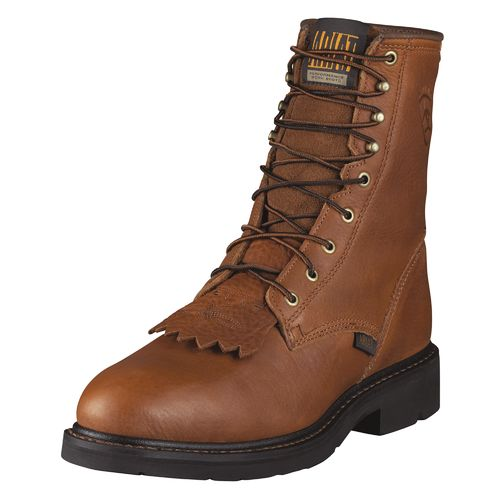 "Ariat Men's Cascade 8"" Steel-Toe Boots"