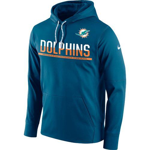 Nike Men's Miami Dolphins Circuit Pullover Hoodie - view number 1