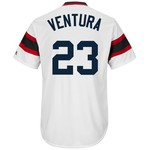 Majestic Men's Chicago White Sox Robin Ventura #23 Cooperstown Replica Jersey - view number 1