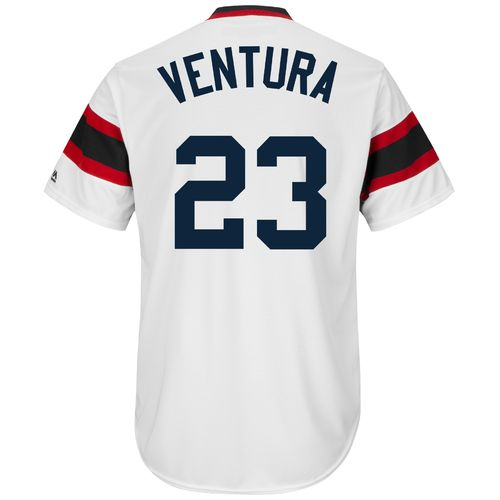 Majestic Men's Chicago White Sox Robin Ventura #23 Cooperstown Replica Jersey