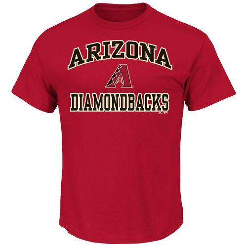Majestic Men's Arizona Diamondbacks Heart and Soul T-shirt